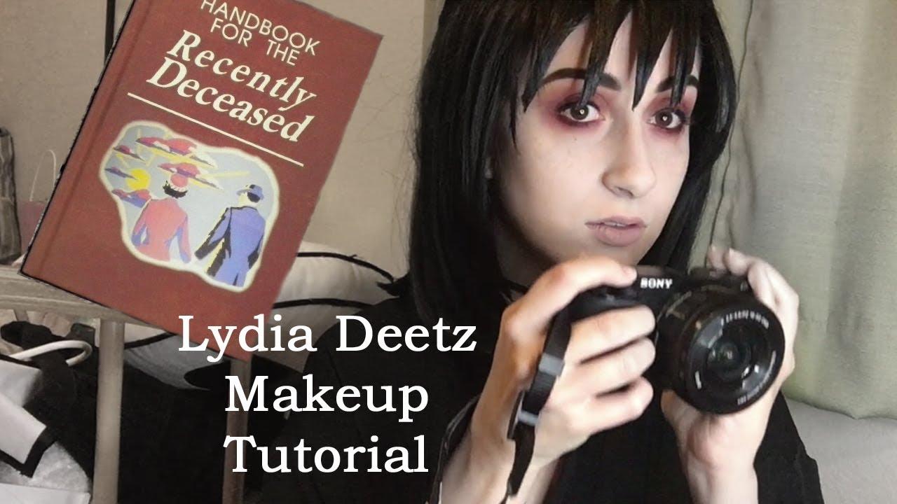 Lydia Deetz Makeup - Mugeek Vidalondon