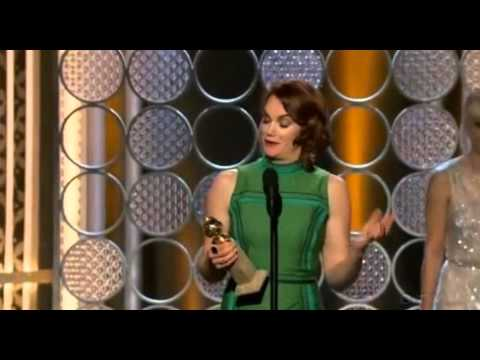 Ruth Wilson Wins Best Actress in a TV Drama  Golden Globe 2015
