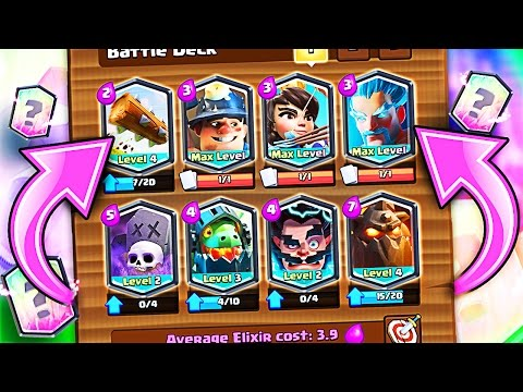 ALL LEGENDARY DECK • Clash Royale • HOW DID IT WORK!?