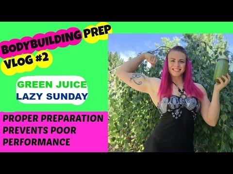 BODYBUILDING PREP VLOG #2 | 32 Days Out USA NATIONALS  | GREEN JUICE?