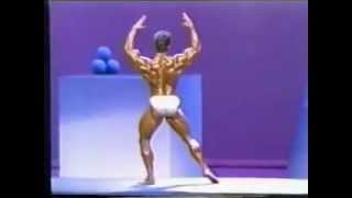 Bob Paris Posing Mr Olympia 1988.mp4