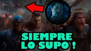 Cosas que NO VISTE en Avengers Endgame