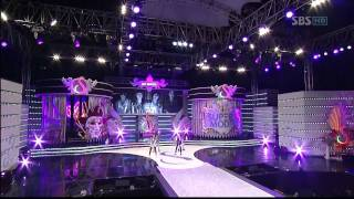 2NE1 - I Don't Care [Live 2009.09.24]