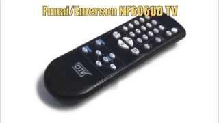 FUNAI NF606UD TV Remote Control - www.ReplacementRemotes.com