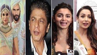 Bollywood Celebrities Reaction On Deepika Padukone & Rnveer Singh's Wedding