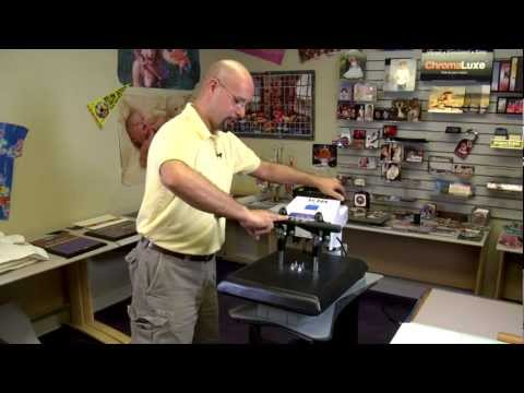Calibrating A Heat Transfer Press for ImageClip Transfer Papers -