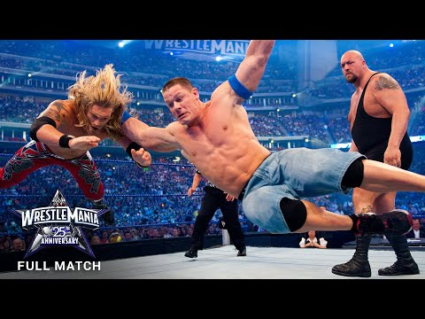 FULL MATCH - Edge vs. John Cena vs. Big Show  World Title Triple Threat Match: WrestleMania XXV