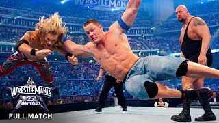 FULL MATCH - Edge vs. John Cena vs. Big Show - World Title Triple Threat Match: WrestleMania XXV