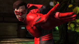 Injustice Mobile Red Lantern Hal Jordan Super Moves and Powers No Commentary