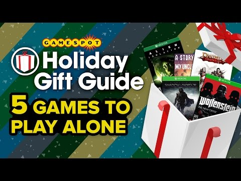5 Games To Play Alone Gamespot Holiday Gift Guide 2014
