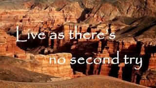 Daneliya Tuleshova   Seize the Time   Lyrics video   Karaoke version