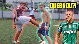 ACHAMOS O NOVO FELIPE MELO!! ( ele bate muito!! )