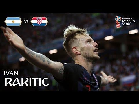 Ivan RAKITIC Goal - Argentina v Croatia - MATCH 23
