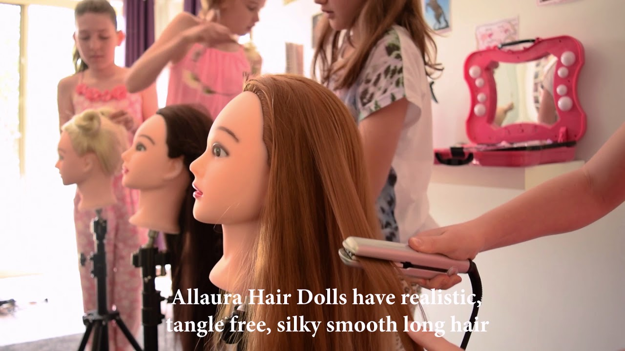 Luxury Wig Outlet Allaura Hair Doll Promotional Video