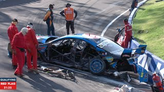 Biggest v8 supercars Crashes of all time