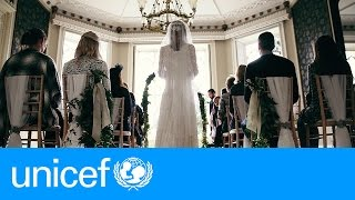 A storybook wedding - except for one thing | UNICEF