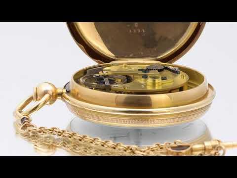 Breguet Tourbillon pocket watch No. 1188