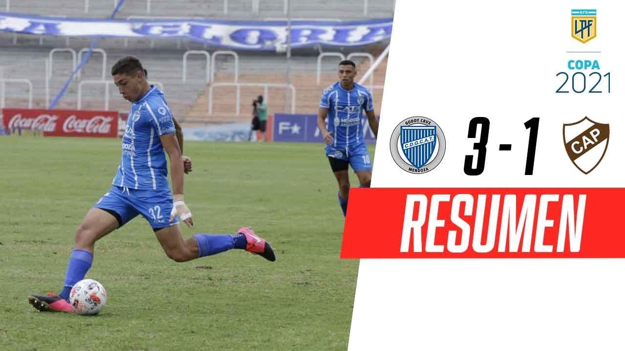 ¡REMONTADA Y TRIUNFAZO! | Godoy Cruz 3-1 Platense | RESUMEN