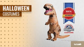 Rubie's Men Halloween Costumes [2018]: Rubie's Adult Jurassic World T-Rex Inflatable Costume