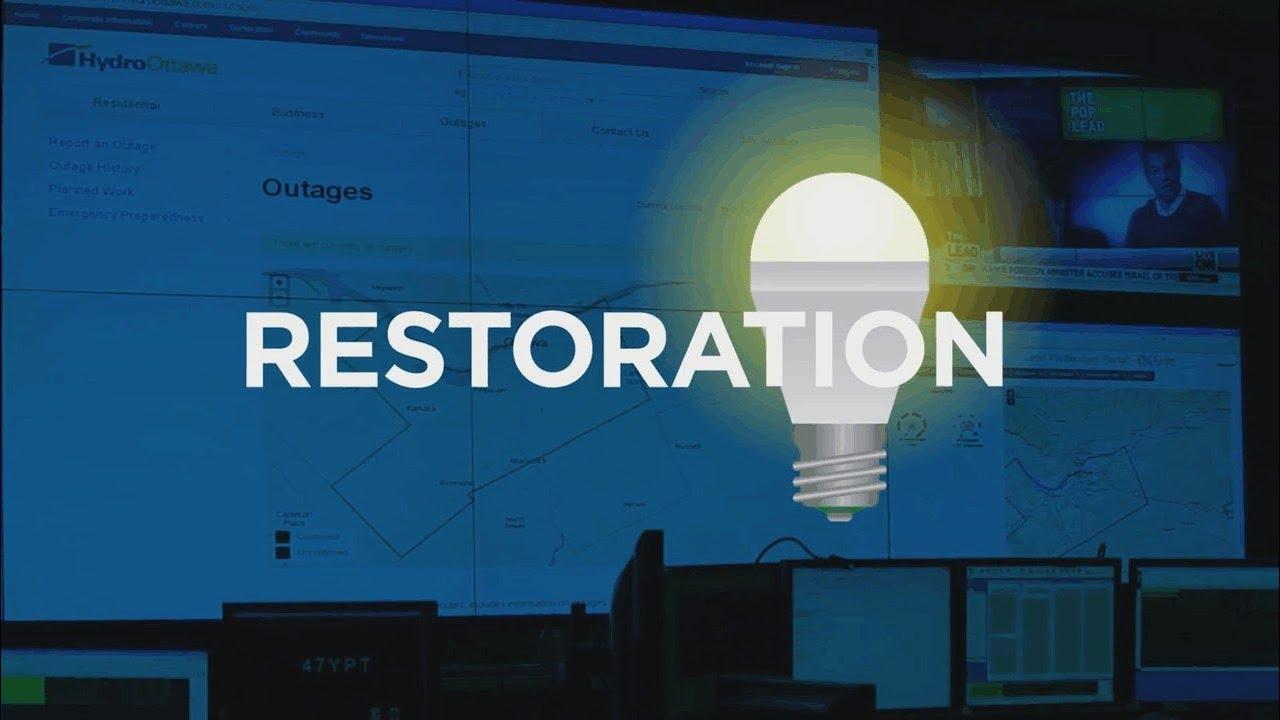 Outage Centre Hydro Ottawa
