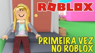 NEW SERIES-MY FIRST TIME in ROBLOX (pilot episode)