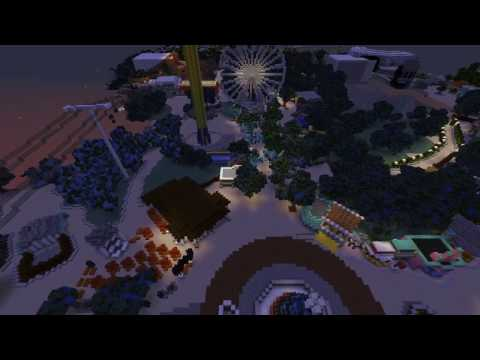 Holiday in The Park 2016 New Jersey- Minecraft Recreation