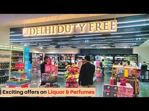 Amazing Deals at DELHI DUTY FREE 2020  | Liquor & Perfumes (price list) | JO MALONE Store Tour