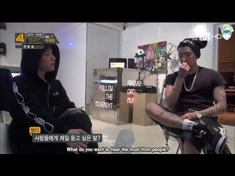 Jay Park telling Simon D that he wants to hear he is tall