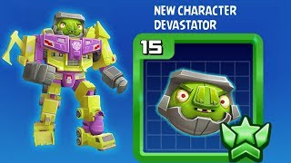 NEW CHARACTER DEVASTATOR – Angry Birds Transformers Gameplay (Android,iOS)