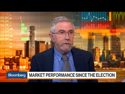 Krugman Says Stocks Not in Obvious Bubble But Risks Exist