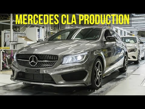 Mercedes CLA Production