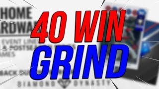 40 WIN GRIND! MLB The Show 18 | Diamond Dynasty