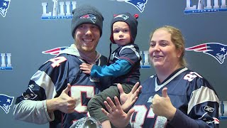 VIDEO NOW: Lombardi Trophy at Gillette