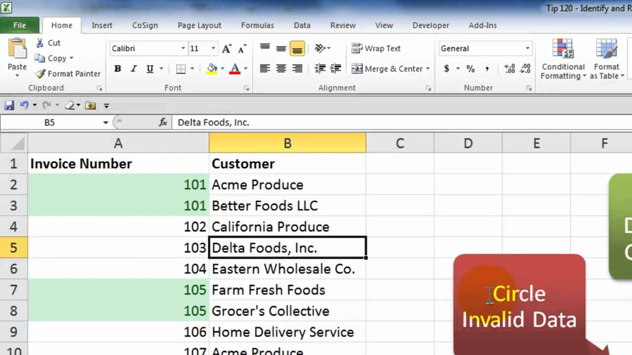 How To Identify And Then Delete Duplicate Records In Excel