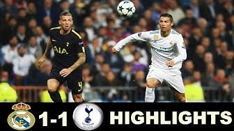 Real Madrid vs Tottenham Extended Highlights - Champions League 17/10/2017