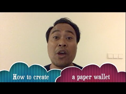 How to create cryptocurrency paper wallet