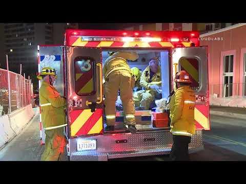 Elevator Shaft Rescue / Downtown LA 10.15.18