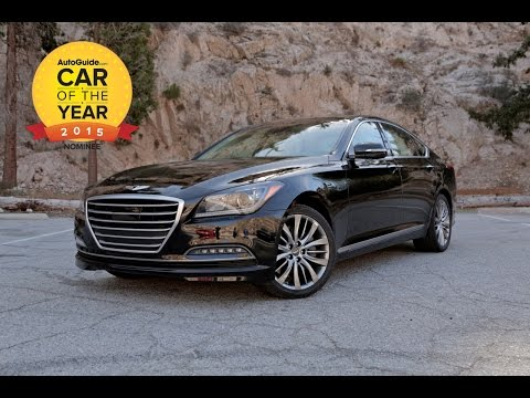 2015 AutoGuide.com Car of The Year Part 5 of 6 Hyundai Genesis