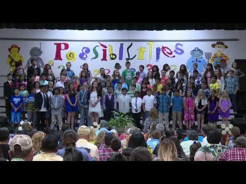 Monitor Elementary School   5th Grade Graduation   May 19, 2015