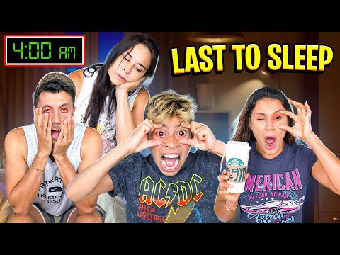 Last to FALL ASLEEP Wins $10,000 CHALLENGE!!! 😴 | The Royalty Family