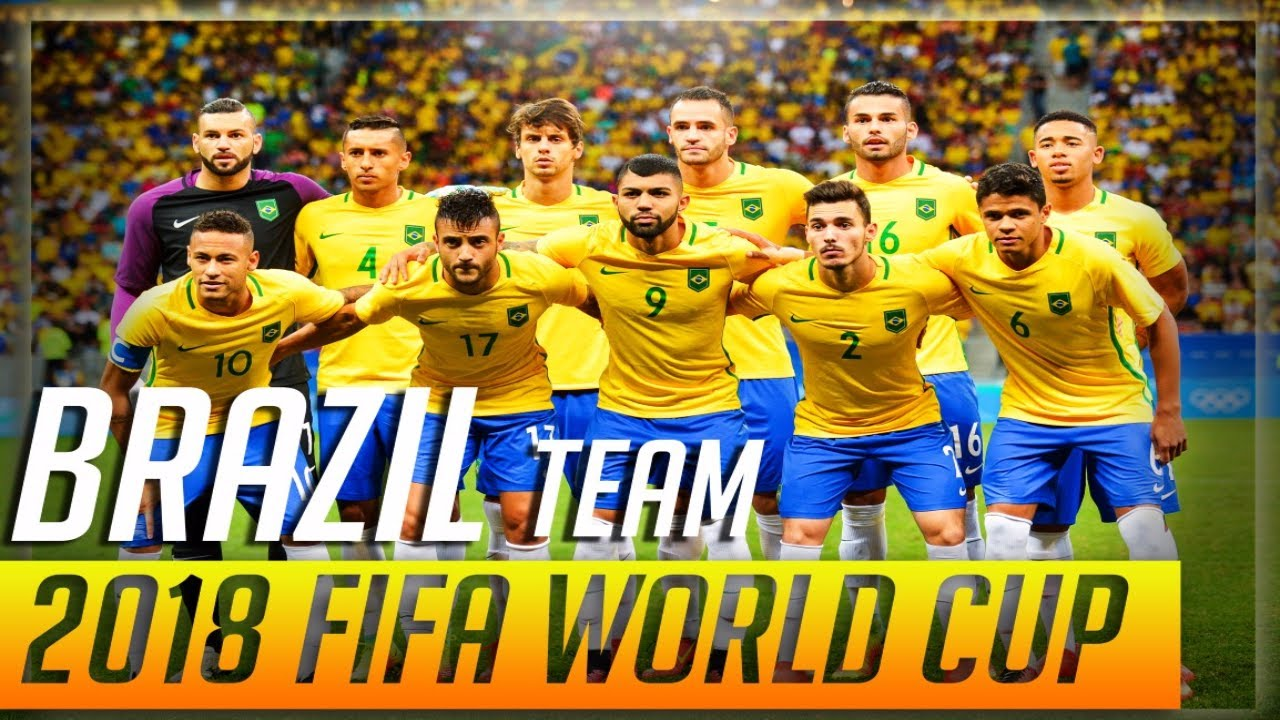 brazil football team fifa world cup 2018 russia official