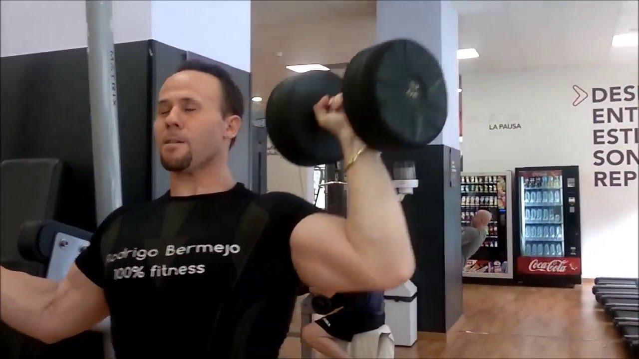 Press mancuerna para hombro