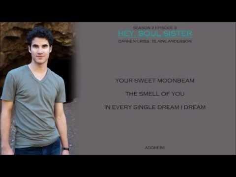 Glee _ Hey, Soul Sister Lyrics