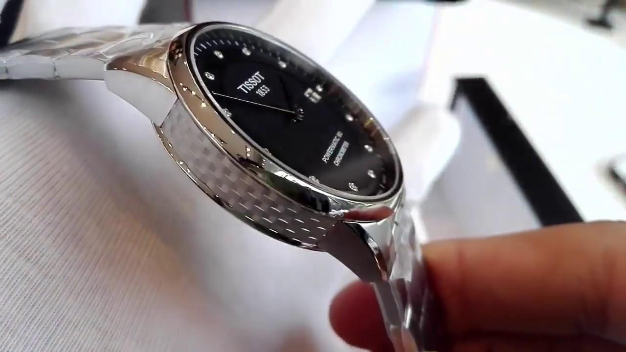 4851eb32081 TISSOT Luxury Automatic Black Dial Men's Watch - YouTube