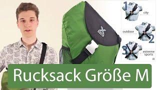 Rucksack Größe M