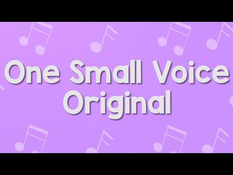 One Small Voice | Original Instrumental | Jack Hartmann