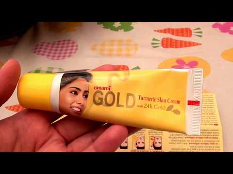 Emami GOLD Turmeric Skin Lightening Cream 24k Gold Natural Herb Extracts