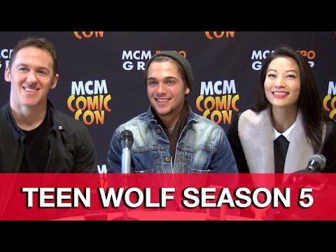 Teen Wolf Season 5 Interview - Arden Cho, Dylan Sprayberry & Jeff Davis