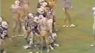 1983 Wk 08 Dolphins Swamp Colts 21-7 in Mud Bowl; Highlights With Radio Call