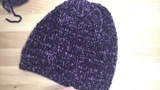 Вязание шапок спицами видео уроки/шапка бини